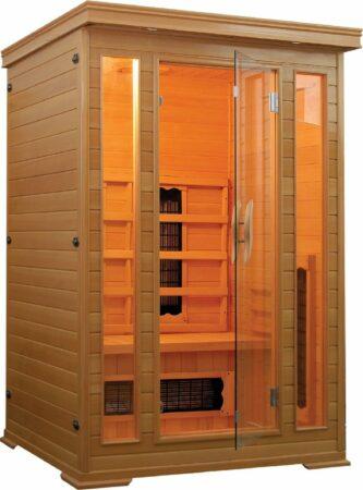 Afbeelding van Rode Sanotechnik Infrarood Sauna Carmen 120x120 cm 1750W 2 Persoons