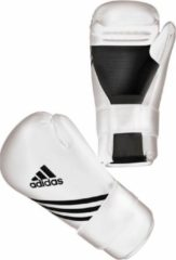 Adidas Semi Contact Gloves - Bokshandschoenen - Wit - XS