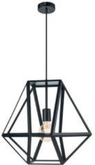 EGLO Vintage Embleton Hanglamp - 1 Lichts - Ø460mm. - Zwart