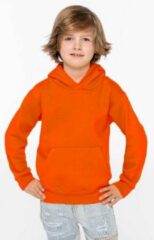 Gildan Oranje sweater/trui hoodie voor jongens - Holland feest kleding voor kinderen - Supporters/fan artikelen S (6/8)