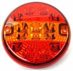 Rode Benson LED Achterlicht Vrachtwagen Rond 140 Mm