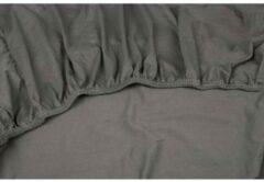 Antraciet-grijze Dubbel Jersy Dubbel Jersey Hoeslaken Extra Dikke kwaliteit | 140x200 / 220 cm - Antraciet | 100% Zacht Comfort Katoen