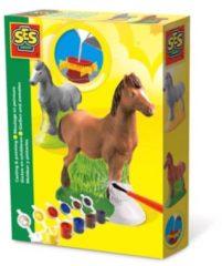 SES Figuren gieten en schilderen - Hobbypakket - Kinderen - Paard