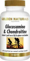 Golden Naturals Glucosamine 1500Mg Golden Naturals - 100 tabletten - Voedingssupplement