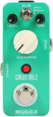 Mooer groen Mile Overdrivepedaal
