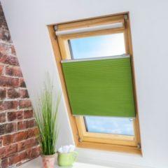 Liedeco Klemmfix Universal-Thermo-Plissee Dachfenster Dachfensterplissee Wabenplissee - grün