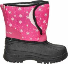 Roze Snow Fun meisjes snowboot - Fuchsia - Maat 33
