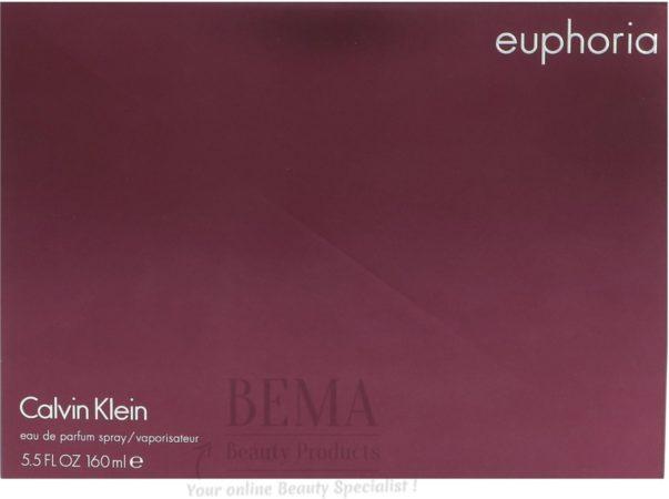 Afbeelding van Calvin Klein Euphoria Women Edp Spray Karton @ 1 Fles X 160 Ml