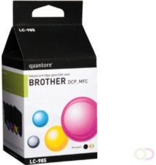Inkcartridge Quantore Brother LC-985 zwart + 3 kleuren