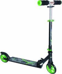 Muuwmi 2-wiel Kinderstep Voetrem Aluminium Zwart/groen