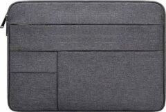 YONO Laptophoes Sleeve voor 15.6 Inch Laptops – Waterdichte Laptoptas – Donkergrijs