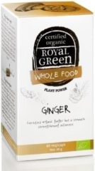 Royal Green Royal groen - Royal groen Ginger (gember) - 60 vegicaps