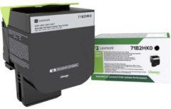 Lexmark Tonercassette CS/CX 417,517 Return Cartridge 71B2HK0 Origineel Zwart 6000 bladzijden