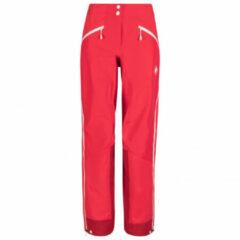 Mammut - Women's Nordwand Pro Hardshell Pants - Wandelbroek maat 34 - Regular, wit/grijs/zwart/olijfgroen/zwart/olijfgroen/rood/zwart/olijfgroe