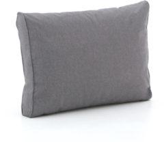 Grijze Madison loungekussen luxe rug 60x40cm - Laagste prijsgarantie!