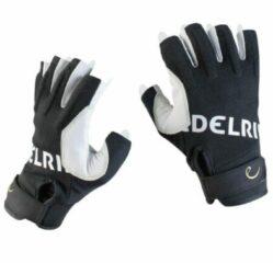 Edelrid - Work Glove Open - Klimhandschoenen maat L zwart/grijs