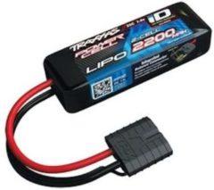 LiPo accupack 7.4 V 2200 mAh Aantal cellen: 2 25 C Traxxas Box hardcase Traxxas iD