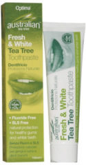 Cruydhof Optima Australian Tea Tree Fresh & White - 100 ml - Tandpasta
