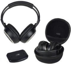 Zwarte Caliber Hoofdtelefoon MAC103UHF UHF draadloze hi-fi stereo koptelefoon en transmitter