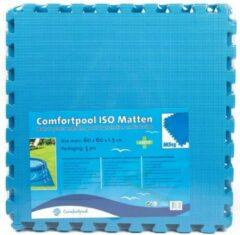 Comfortpool - zwembad tegels - blauw - 5 tegels - 60 x 60 cm - 1,8 m2 - zwembad ondertegels