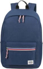 Blauwe American Tourister Upbeat Backpack Zip navy backpack