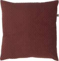 Gouden Dutch Decor Kussenhoes Lars 45x45 cm bordeaux