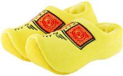 Nijhuis Klomppantoffel geel boeren bies maat 31-35