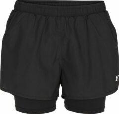 Newline Base 2-Layer Shorts Dames - Zwart - maat S
