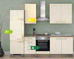 Flex-Well Küchenzeile G-270-2210 + Haube 6091 Eico 270 cm