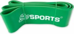 ScSPORTS® Fitness Elastiek - Resistance Band - 36 tot 103,5 kg - Groen