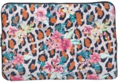 Misstella Laptop Sleeve met dierenprint tot 15.4 inch – Multi colour