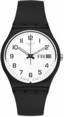 Swatch Originals Gent Once Again horloge - Zwart