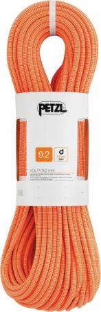 Afbeelding van Petzl - Volta 9,2 - Enkeltouw maat 60 m, oranje/beige