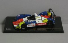 Rode Courage Oreca LC70E-JUDD #5 Test Paul Richard 2008 1:43 IXO Models Wit / Blauw / Rood / Geel GTM082