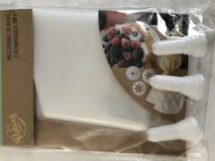 Cucina Slagroom spuitset met 10 zakjes en 3 verschillende spuitmondjes