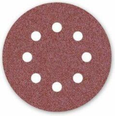 HaWe Hawera - 5 sanding discs for sanders - perforated - 125mm - Korrel 80