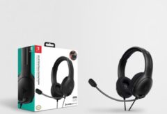 PDP Gaming LVL40 Nintendo Switch/Lite Stereo Gaming Headset - Zwart