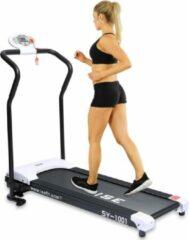 Witte FitBoostR Loopband Inklapbaar Fitness Elektrisch 10 km/h - Loopbanden Treadmill