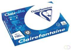 Clairefontaine Clairalfa 2618C Printpapier, kopieerpapier DIN A4 160 g/m² 250 vellen Helderwit