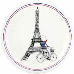 GIEN FRANCE - Ca C'est Paris - Gebakbordje Eiffeltoren Zwart