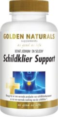 Golden Naturals Schildklier Support Tabletten 90st
