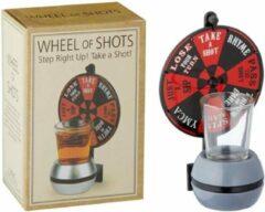 Huismerk Premium Wheel Of Shots Drankspel - 15 Cm
