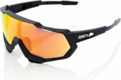 Zwarte 100% Speedtrap Fietsbril - Tact Black - Hiper lens