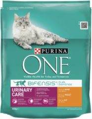 Kattenvoer one urinary care rijk aan kip & tarwe brokjes 800 gr Purina