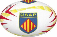 Rode Gilbert Perpignan supporters rugbybal maat 5