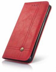 Samsung S8 Smart Prestige Wallet Case Rood - Smartphone Hoesje
