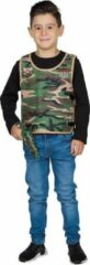 Rubies Rubie's Vest Camouflage Jongens Polyester Groen Maat 152
