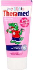 Theramed Junior Aardbei / Fraise 3+ Tandpasta Tube 50 ml -12 stuks - Vordeelverpakking
