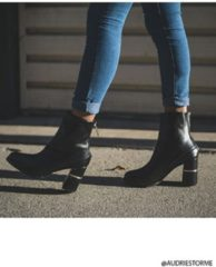 FOREVER21 Faux Leather Ankle Boots