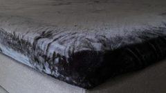 My house Hoeslaken laken micro flanel ( met vleug) 80x200 90x200 cm kleur zwart super zacht ,anti-allergie,vochtregulerend,ademend,luxe uitstraling,bedlegerigheid voor matras en of topper